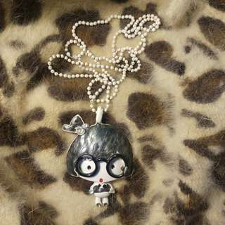 Geeky Girl Long Necklace