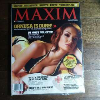 Ornussa Cadness (Zombettes) Maxim Philippines Magazine (August 2006)