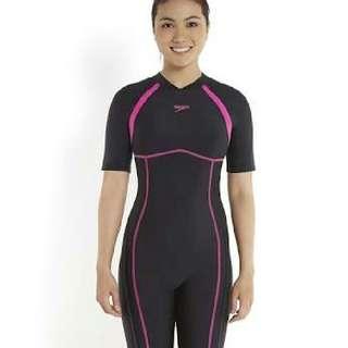 Original Speedo Swim Kneesuit And Swimming Cap