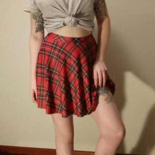 Black Milk Schoolgirl Skater Skirt