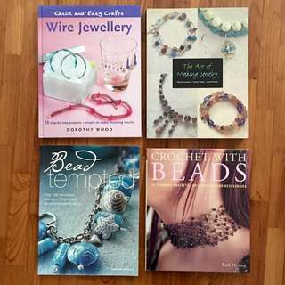 Preloved Jewellery Making Books Bundle Sale