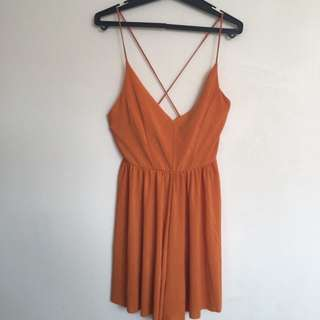 ✨ Orange Zara Playsuit ✨