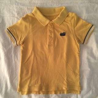 Mothercare Yellow Polo Shirt