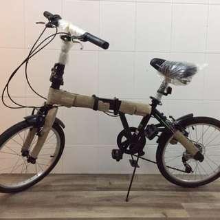 "Folding Bike / Bicycle 20"" 6 Speed"