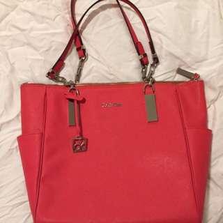 Calvin Klein Pink/Red Bag