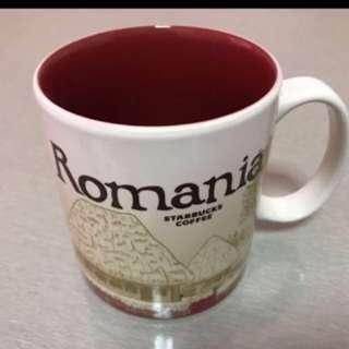 Starbucks Romania Mug Icon Series