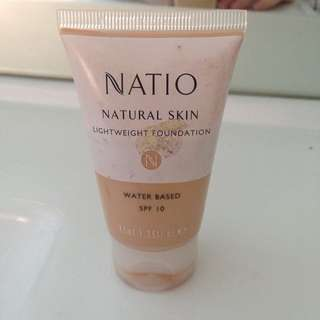 Natio Water based foundation