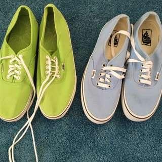 Men's Shoes Vans Size 10