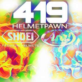 ARAI & SHOEI HELMETPAWN