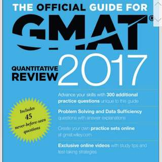 GMAT Official Guide 2017 & Data Sufficiency Databank Questions