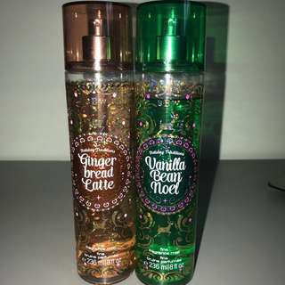 Bath And Body Works Holiday Fragrance Mist