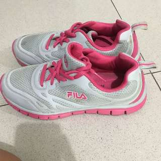 Fila Pink Rubber Shoes 7