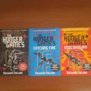 🚚 The Hunger Games Series