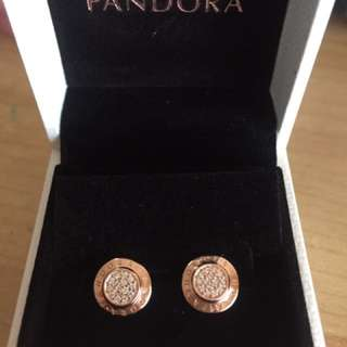 Pandora Rose Signature Earrings