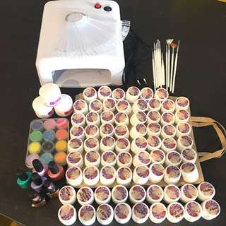 Bulk nail art supplies