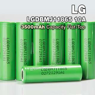 LG MJ1 3500mAh 18650 Rechargeable Li-ION Battery