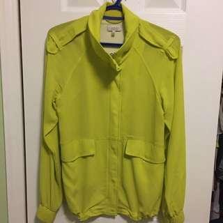 Aritzia Babaton Silk Jacket