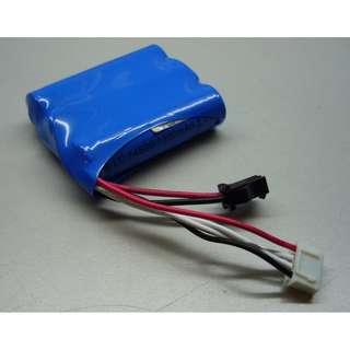 Li-ion 14500  battery pack, 11.1V, 1200mAh