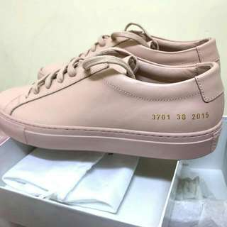 Common Projects Achilles Leather Sneakers Size 38