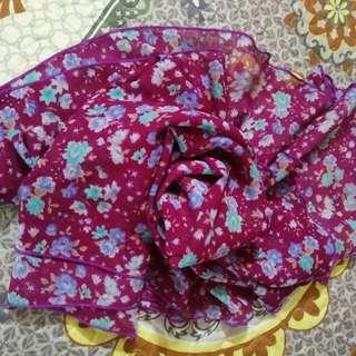 Chiffon Purple Shawl