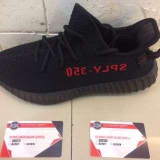 Adidas Yeezy Boost Breds V2 BLACK