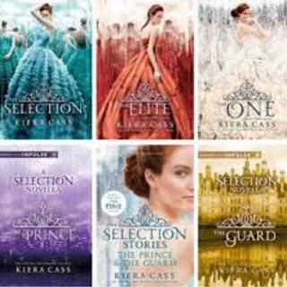 The Selection Series Audiobook Collection