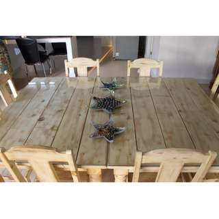 Canadian Wood Dining Table