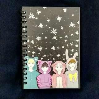 BTS Fanart Notebook