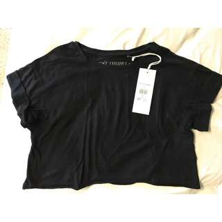 BNWT Silent Theory Cropped Tee