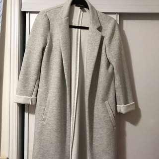 Forever 21 Gray Duster Coat