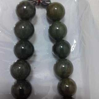 緬甸翠綠玉項鍊