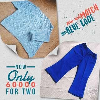 Mix & Match THE BLUE CODE