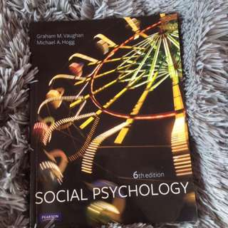 Psych 204 Prescribed Textbook Social Psychology