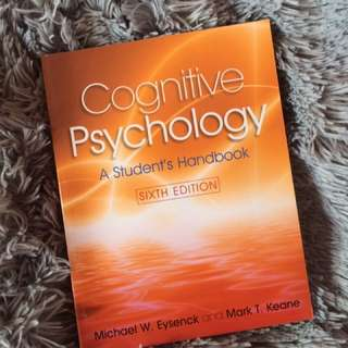Psych 201 Cognitive Psychology