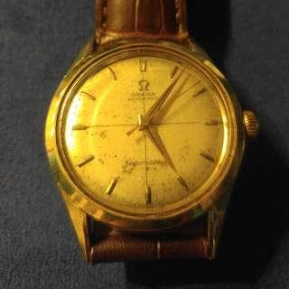 Omega Seamaster 14k Gold (vintage)