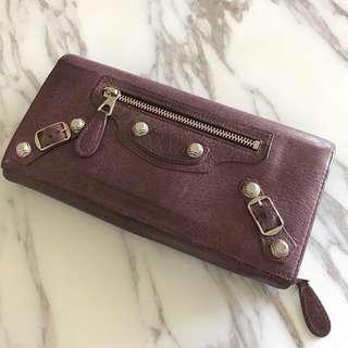 REDUCED PRICE! balenciaga metallic edge wallet