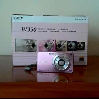 SONY DSC-W350 數位相機 (粉紅) #交換最划算