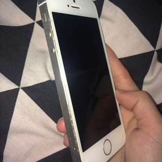 iPhone 5s, Gold.