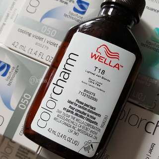 Wella Color Charm Permanent Hair color T18 or 050