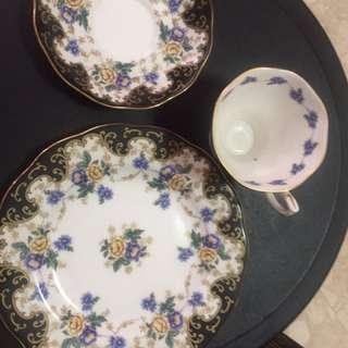 Royal Albert Bone China 3pc Tea Set
