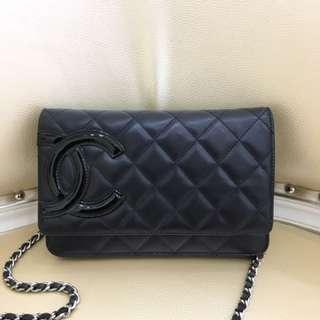 Chanel woc 羊皮皮 黑色 93new 好價格秒