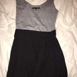 Black/grey Dress
