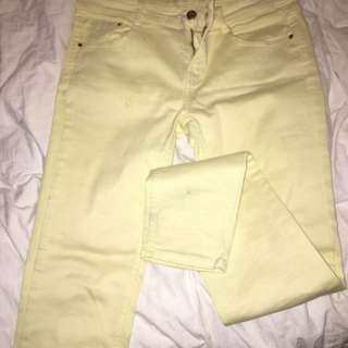 Zara Yellow Pants