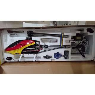 Selling Cheap - BNIB Art-Tech Genius 500 6CH CCPM big size RC Helicopter RTF 2.4GHz. Complete set with lipo battery, transmitter and charger.