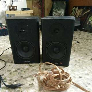 Kurzweil KS-40A Monitor Speakers