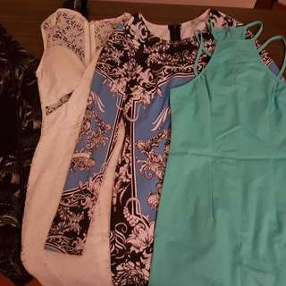 4x Dresses Size Small