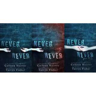 Never Never series Audiobook Collection
