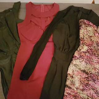 Bulk Lot Dresses Size Small