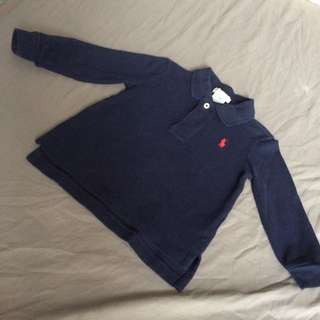 Ralph Lauren Long Sleeve Polo Short