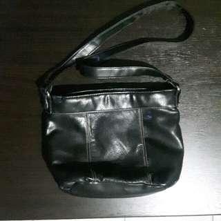 Leatherette Sling Bag